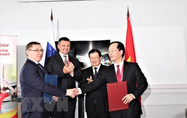 Việt Nam và Nga coi trọng quan hệ hợp tác trong lĩnh vực dầu khí