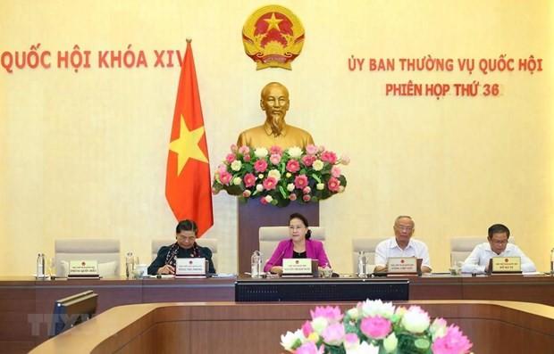 Phiên họp thứ 37 của Ủy ban Thường vụ Quốc hội khai mạc ngày 9/9