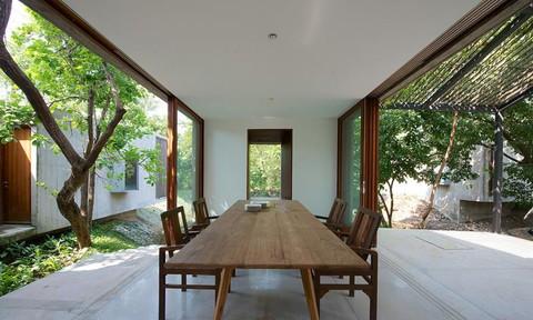 'Ngôi nhà không cửa' hòa mình với thiên nhiên đẹp khó cưỡng