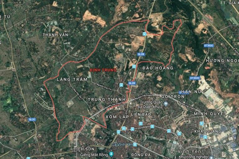 Vĩnh Phúc: Sơ tuyển quốc tế Khu đô thị mới Định Trung