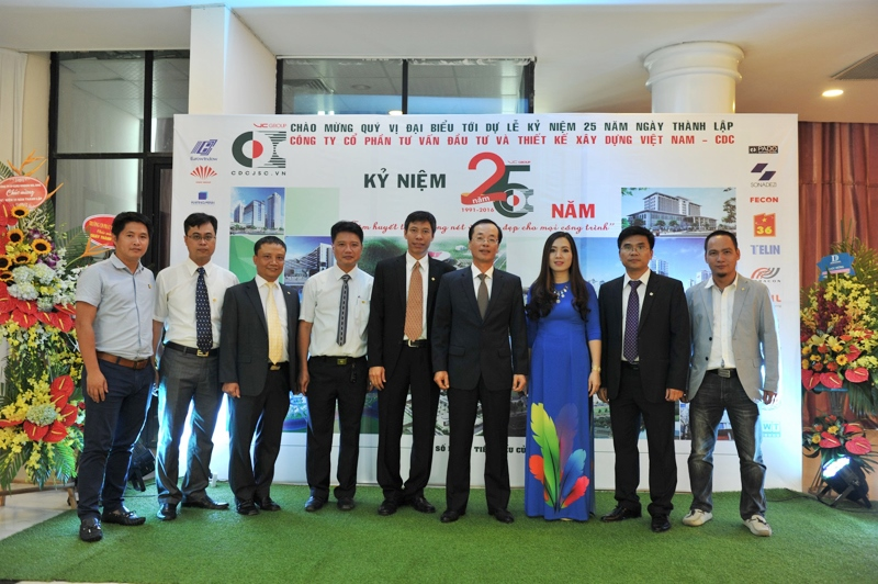 Cty CP Tư vấn đầu tư và thiết kế xây dựng Việt Nam - 28 năm xây dựng và phát triển