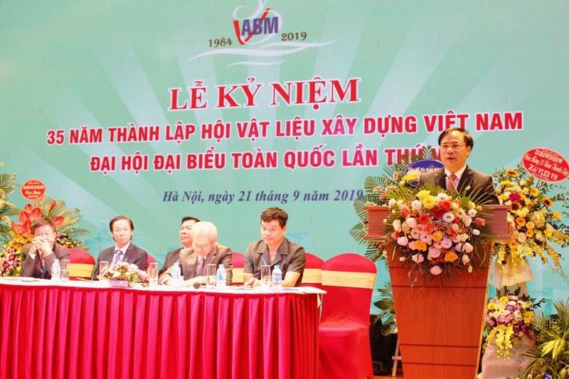 Hội Vật liệu xây dựng Việt Nam tổ chức Đại hội đại biểu toàn quốc...