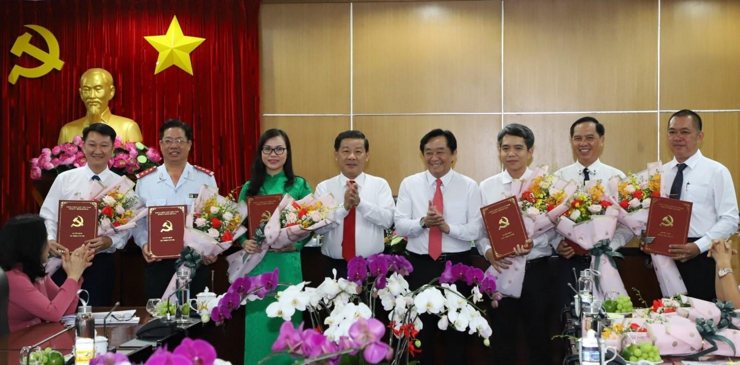 Bình Dương bổ nhiệm 2 Phó Giám đốc Sở Xây dựng