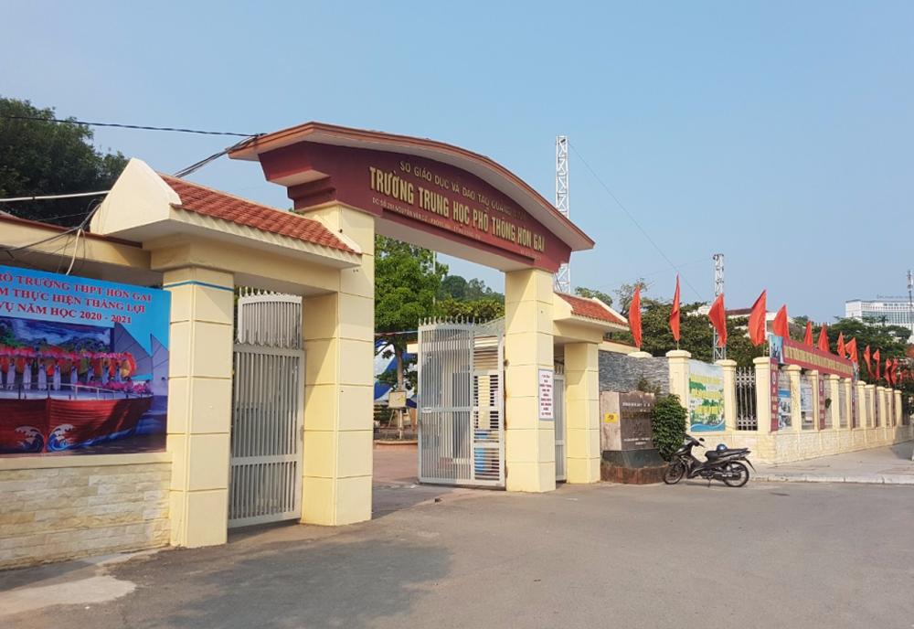 Hạ Long (Quảng Ninh): Mở rộng quỹ đất xây dựng trường THPT Hòn Gai