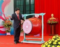 Phó Thủ tướng Trịnh Đình Dũng dự khai giảng năm học mới tại Vĩnh Phúc