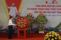 Yên Bái: Tổ chức Lễ khai giảng và khánh thành công trình trường Phổ thông Dân tộc Nội trú THPT tỉnh