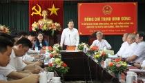 Phó Thủ tướng Trịnh Đình Dũng thăm và làm việc tại huyện Tam Dương, tỉnh Vĩnh Phúc