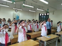 Trường THCS Chu Văn An: Khai giảng năm học mới trong không khí vui tươi, phấn khởi
