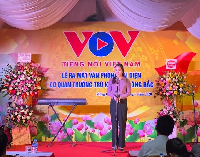 vov dong bac khai truong van phong dai dien tai thanh pho mong cai