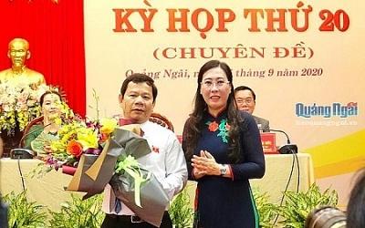 Phê chuẩn kết quả bầu Chủ tịch UBND tỉnh Quảng Ngãi