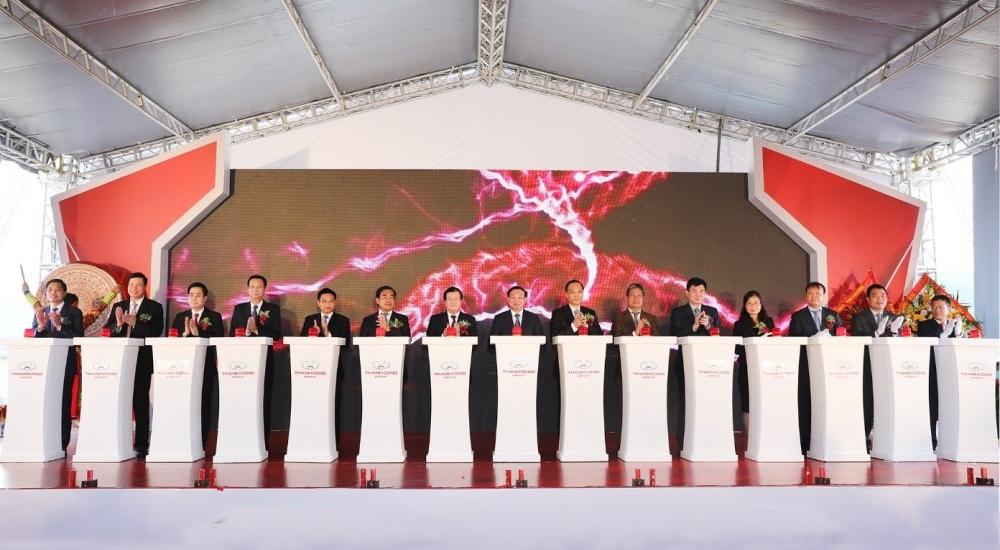 Phó Thủ tướng Trịnh Đình Dũng dự Lễ khởi công xây dựng Khu công nghiệp ôtô Việt Hưng