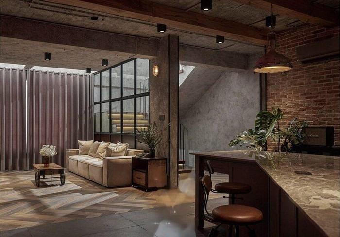 kham pha penthouse khung 300m2 nhu quan cafe cua khoi my kelvin khanh