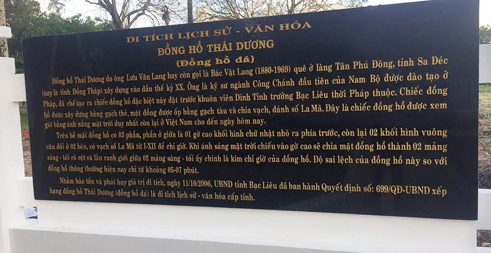 den bac lieu kham pha dong ho da doc nhat vo nhi