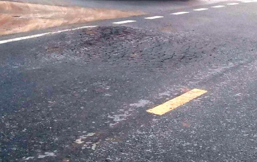 """Thủy Nguyên (Hải Phòng): Tuyến đường hơn 200 tỷ chưa hoàn thành đã """"vội"""" xuống cấp"""