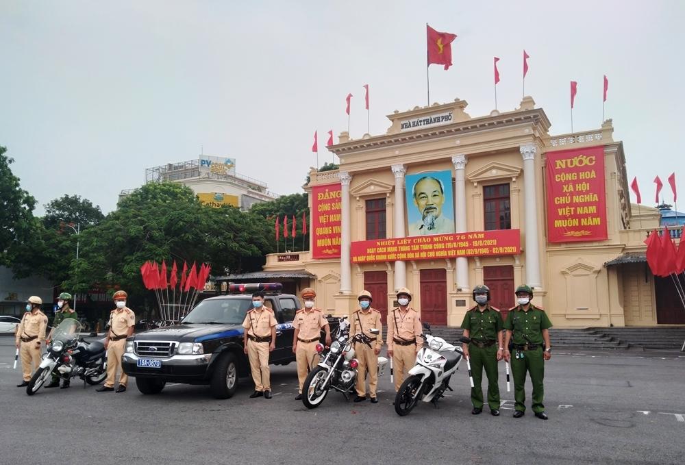 Hồng Bàng (Hải Phòng): Đảm bảo mỹ quan đô thị, an toàn giao thông và phòng chống dịch Covid-19
