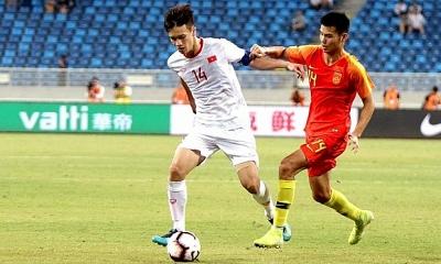 Trận đấu Việt Nam gặp Trung Quốc diễn ra tại UAE trong tháng 10