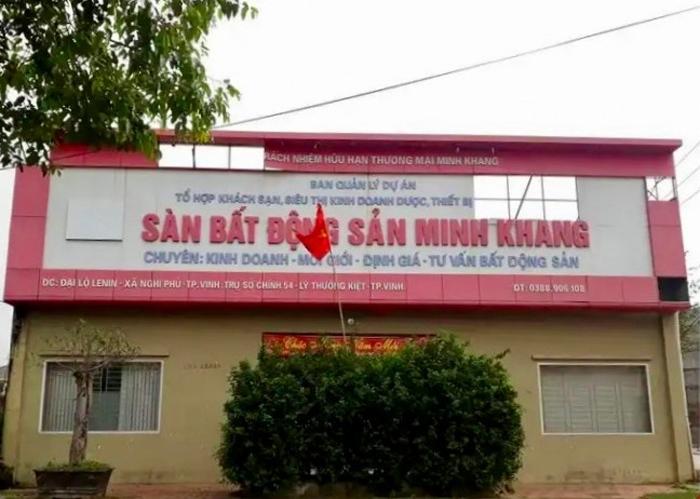 Nghệ An: Khởi tố vụ án liên quan đến sai phạm tại dự án của Công ty Minh Khang