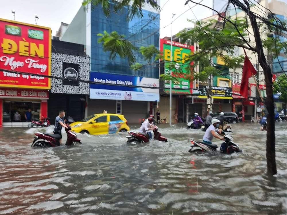 Hải Phòng: Tìm giải pháp chống ngập lụt sau mưa