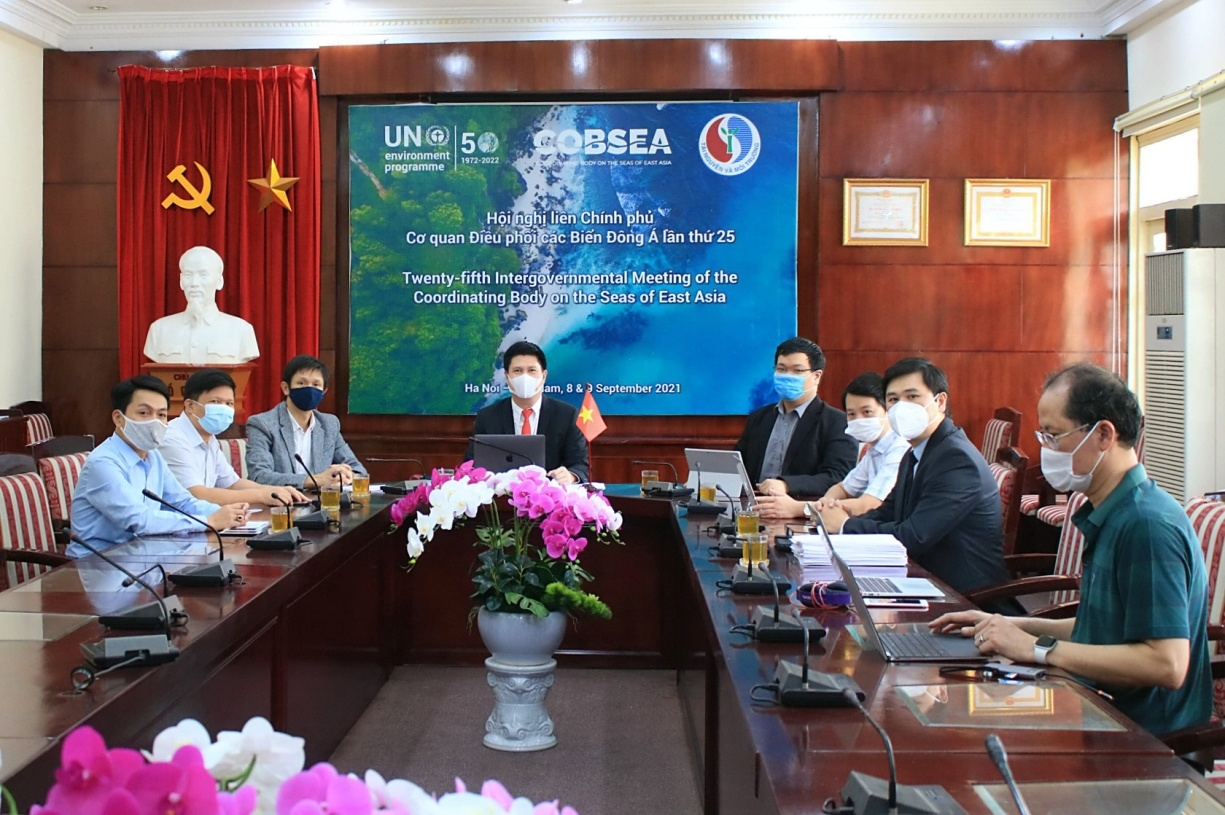 Việt Nam chủ trì thành công Hội nghị Liên chính phủ Cơ quan điều phối các biển Đông Á lần thứ 25