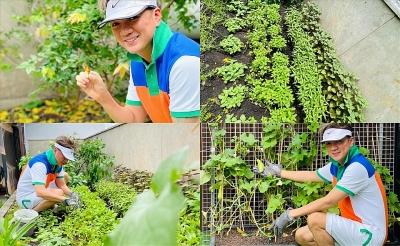 Ngắm khu vườn xanh mướt trong biệt thự 60 tỉ đồng của Đàm Vĩnh Hưng