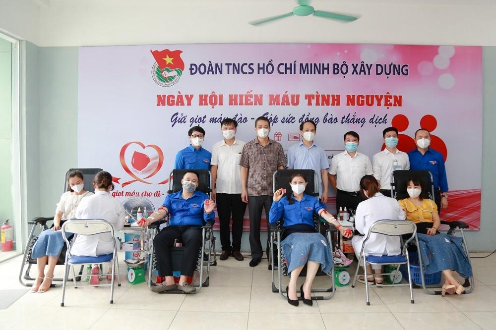 Đoàn Thanh niên Bộ Xây dựng phát động Ngày hội hiến máu tình nguyện
