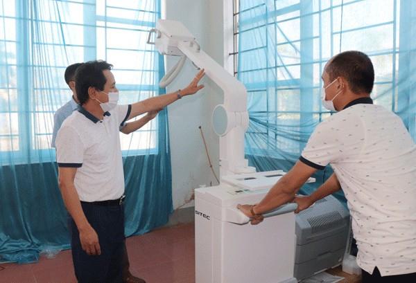 Vĩnh Yên (Vĩnh Phúc): Lãnh đạo thành phố kiểm tra cơ sở điều trị bệnh nhân Covid-19