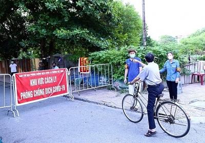 Chiều 20/9: Hà Nội thêm 3 ca mắc mới COVID-19 ở quận Hoàng Mai