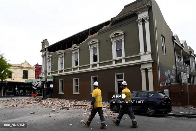 Động đất mạnh 6,0 độ richter rung chuyển đông nam Australia