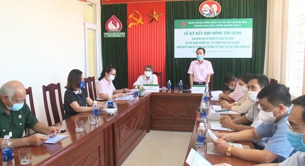 Quảng Bình: Nghị quyết 68 giúp doanh nghiệp và người lao động vượt khó
