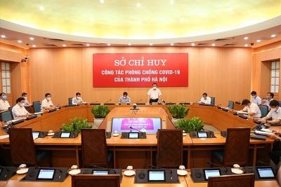 Hà Nội: Kiện toàn Ban chỉ đạo phòng chống dịch Covid-19