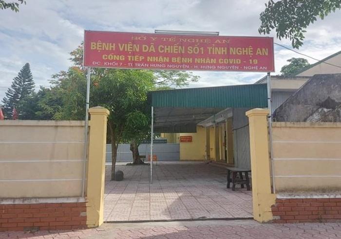 Nghệ An: Bệnh viện dã chiến số 1 dừng hoạt động