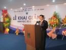 Bộ trưởng Trịnh Đình Dũng dự lễ khai giảng trường Đại học Kiến Trúc TP HCM