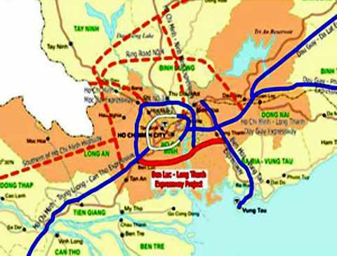 Tháng 12/2013 sẽ khởi công đường cao tốc Bến Lức - Long Thành