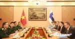 Việt Nam - Phần Lan chia sẻ về xây lực lượng gìn giữ hòa bình
