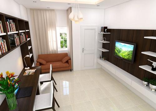 000904baoxaydung image010 Thiết kế kiến trúc nhà ống 50 m2 có 2 mặt thoáng