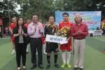 Giao lưu thể thao chào mừng ngày truyền thống giữa Ban Tổ chức Trung ương và Báo bóng đá