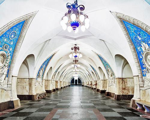 Khám phá những trạm tàu điện ngầm tráng lệ ở LB Nga