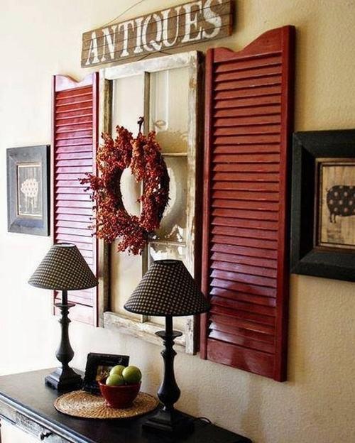 152516baoxaydung 4 Chia sẻ những ý tưởng tái sử dụng khung cửa cũ hữu ích