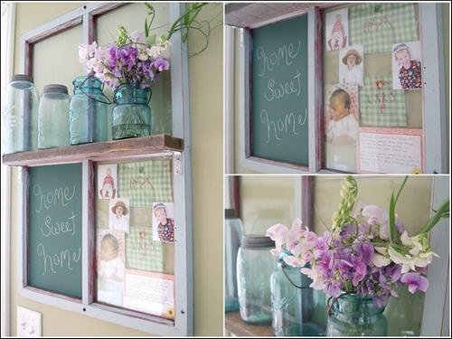 152517baoxaydung 16 Chia sẻ những ý tưởng tái sử dụng khung cửa cũ hữu ích