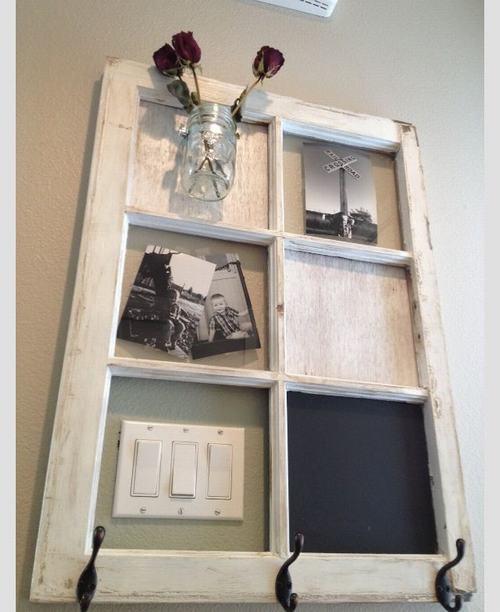 152517baoxaydung 8 Chia sẻ những ý tưởng tái sử dụng khung cửa cũ hữu ích