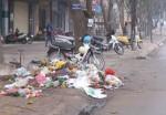 Đổ rác trên vỉa hè bị phạt đến 2 triệu đồng