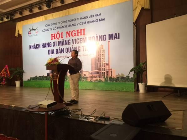 Hội nghị khách hàng Công ty CP Xi măng Vicem Hoàng Mai