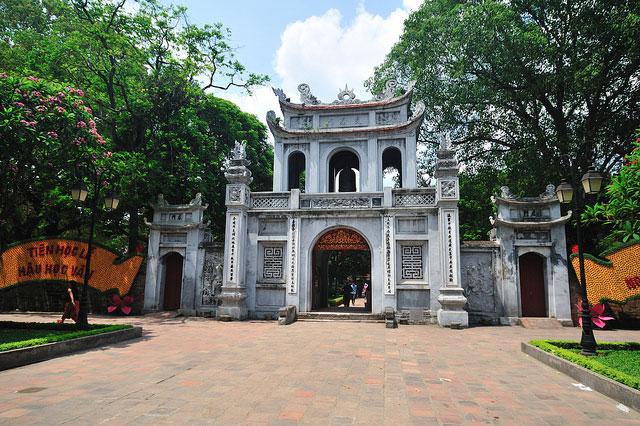 Văn Miếu Quốc Tử Giám - những giá trị kiến trúc trường tồn