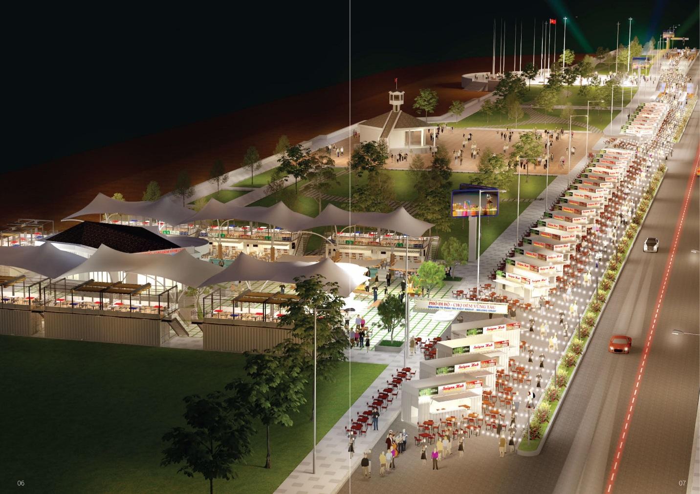 TP Vũng Tàu: Đầu tư phố đi bộ - chợ đêm nhằm thu hút khách du lịch