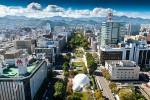 Công viên nổi tiếng ở Nhật được hình thành từ bãi rác