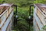 Trạm xử lý nước thải ở Hà Nội bị bỏ hoang 10 năm