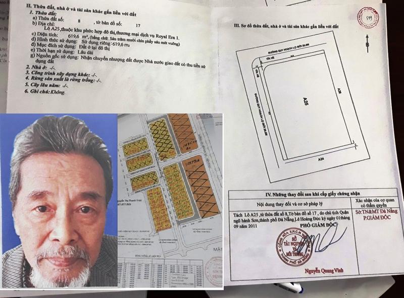 Đà Nẵng: Giả văn bản đấu giá đất công sản lừa đảo hàng chục tỷ đồng - Ảnh 1.