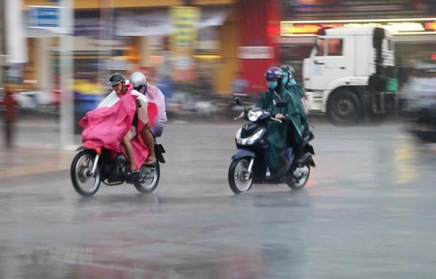 Các tỉnh từ Nghệ An đến Khánh Hòa tiếp tục có mưa to và dông