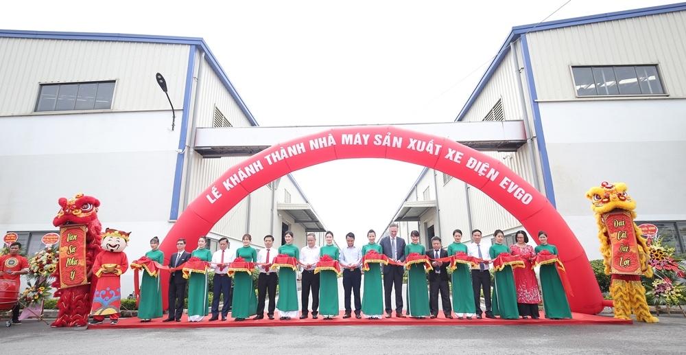 Tập đoàn Sơn Hà tổ chức Lễ khánh thành Nhà máy sản xuất xe điện EVgo