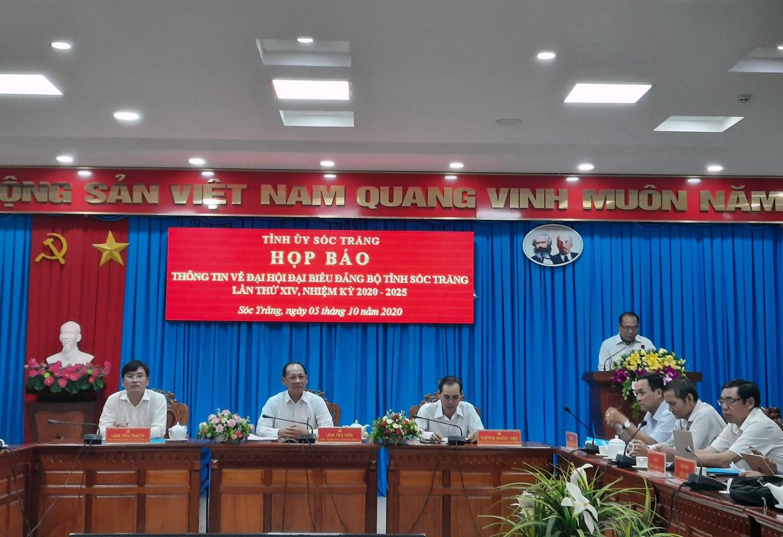 Sắp diễn ra Đại hội đại biểu Đảng bộ tỉnh Sóc Trăng nhiệm kỳ 2020-2025